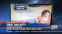 Sheriff's department seeking woman accused of using stolen credit cards