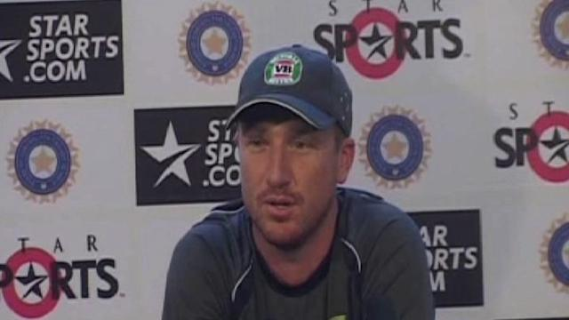 Australian wicketkeeper Brad Haddin press conference