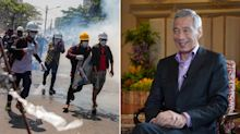 'No future' in Myanmar's military taking over again: PM Lee