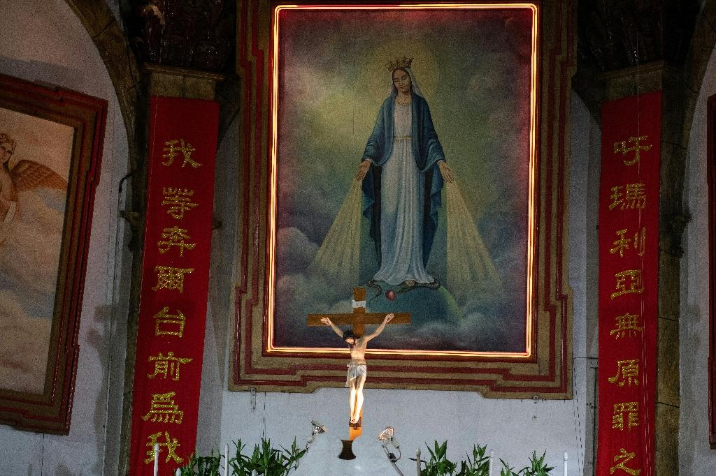 Many of China's estimated 10 million Catholics worship in so-called unregistered 'underground churches' led by bishops loyal to the Vatican