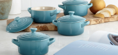 Le Creuset cookware. (ITK)