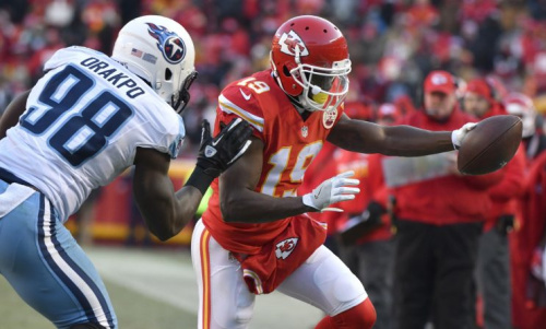 Jeremy Maclin has visited the Bills and Ravens in free agency. (AP)