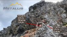 Metallis Discovers Epithermal Vein System at Kirkham