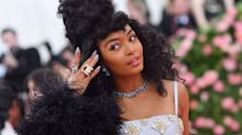 Yara Shahidi Wore Crystal Eye Makeup in the Shape of Her Astrological Sign to the Met Gala
