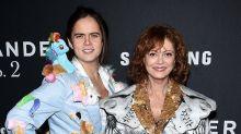 Susan Sarandon's Son Accompanies Her to the 'Zoolander 2′ Premiere Wearing a My Little Pony Blazer