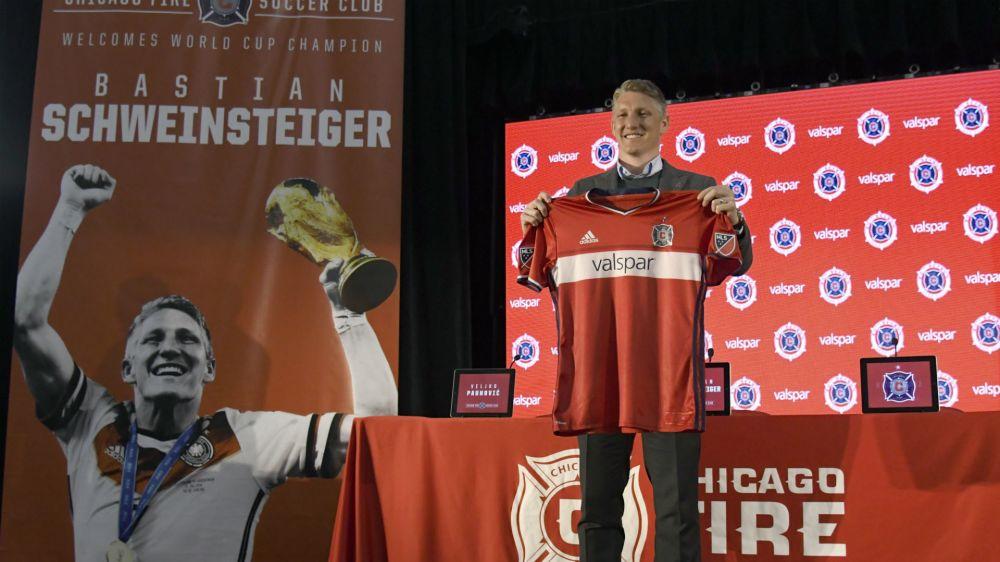 'Good luck winning the World Cup' - NBA star Nowitzki welcomes Schweinsteiger to MLS