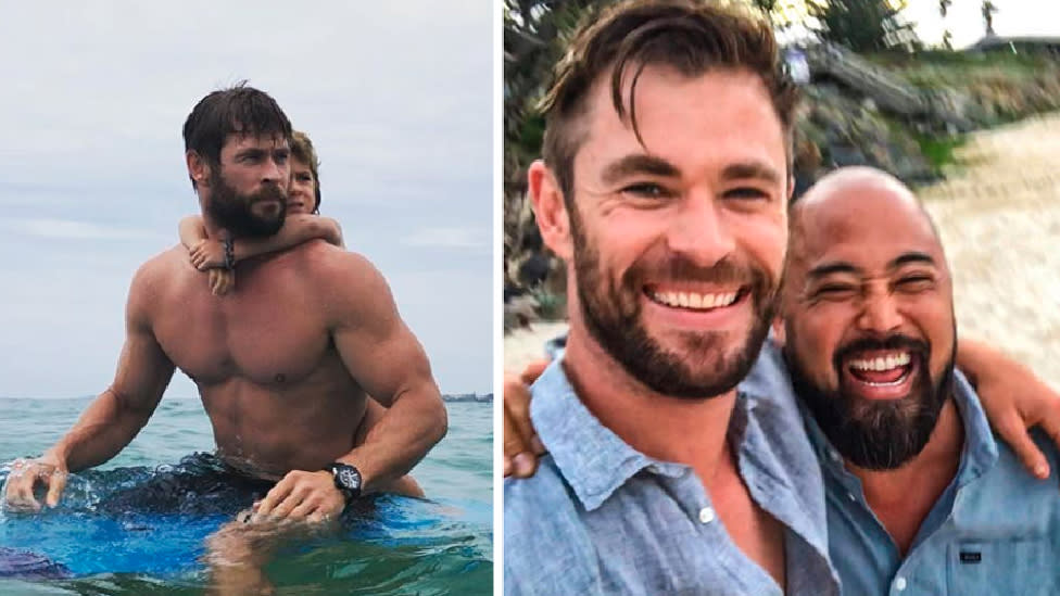 'On another level': Chris Hemsworth's trainer reveals surprising secret behind his abs