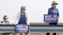 Trump y Biden buscan votantes en medio oeste EEUU y se enfrentan por vacante en Corte Suprema