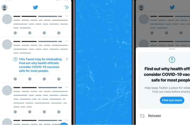 Twitter will label tweets with misinformation about COVID-19 vaccines