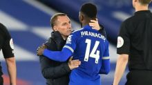 Rodgers pleads for Leicester to stay focused on Champions League race