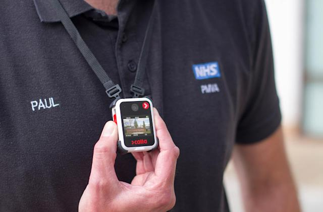 UK trials body cameras for staff in mental health wards