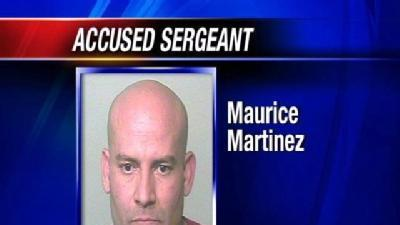 Sgt. Martinez Charged With 36 Felonies