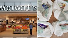 Woolworths shopper's furious reaction to home delivery fail