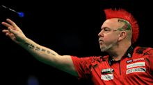 Peter Wright survives scare at World Matchplay as holder Rob Cross crashes out