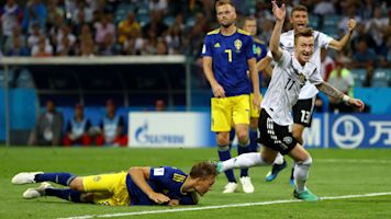 Picture this: Germany strike late, Mexico & Belgium win