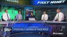 Stocks are soaring on signs of a trade deal brewing, but ...