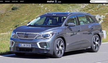 首次現身的全新 7 人休旅,VW 測試車被捕獲!