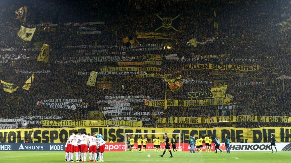 BVB-Ultras rufen vor Spiel gegen RB Leipzig zu Protestmarsch auf
