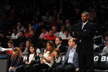 NBA: Preseason-Detroit Pistons at Brooklyn Nets