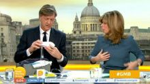 'GMB' viewers bemused as Richard Madeley demonstrates male breastfeeding kit
