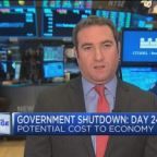 Government shutdown poses a risk to GDP, says Deutsche Ba...