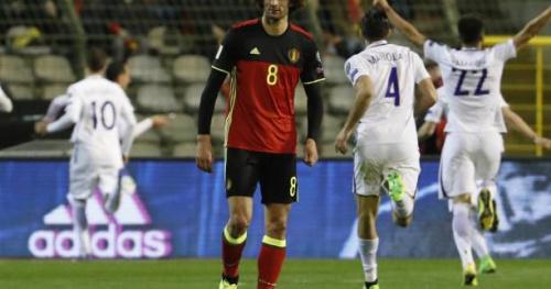 Foot - BEL - Belgique : Marouane Fellaini et Thibault Courtois forfaits