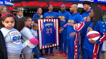 Harlem Globetrotters Take Over 'GMA,' Honor Robin Roberts