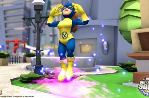 Marvel Super Hero Squad Online playable at Comic-Con