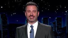 Jimmy Kimmel Graciously Finishes Melania Trump's 'Hate, Negativity' Speech