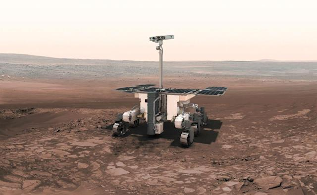 The ExoMars rover mission has been postponed until 2022 for further testing