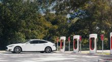 Tesla Update Allows Drivers to View Supercharger Availability Through Nav System