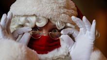 Santa Does Not Need A Face Mask When Meeting Children At Grottos, No.10 Says
