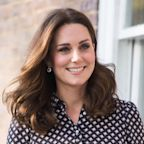 Kate Middleton Wore Forest Green on St. Patrick's Day