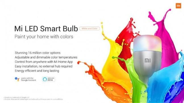 Xiaomi announces Mi LED Smart Bulb in India, will go for crowdfunding on April 26