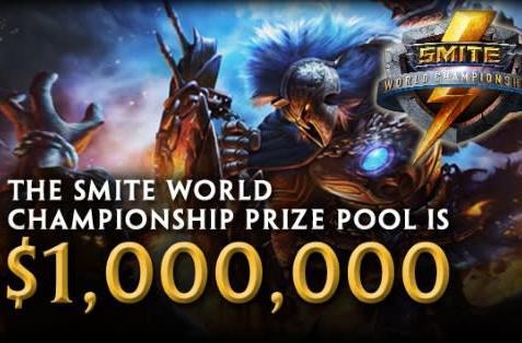 SMITE tournament prize pool reaches $1M
