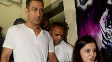 Pics: MS Dhoni and Sakshi Watch 'Race 3' With Salman Khan