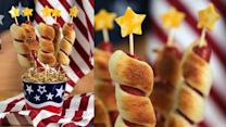 Dazzle the Crowd With Firework Hot Dogs This Fourth of July
