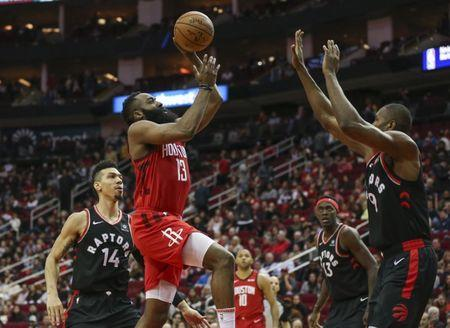 21e00f391568 NBA  Toronto Raptors at Houston Rockets