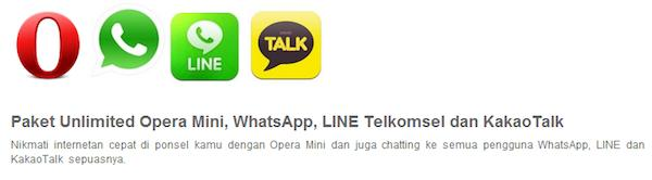 Telkomsel's new unlimited messaging plan gives Indonesians an alternative to BBM
