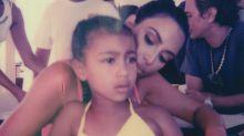 Kim Kardashian is being mom-shamed for letting 5-year-old North West wear a bikini