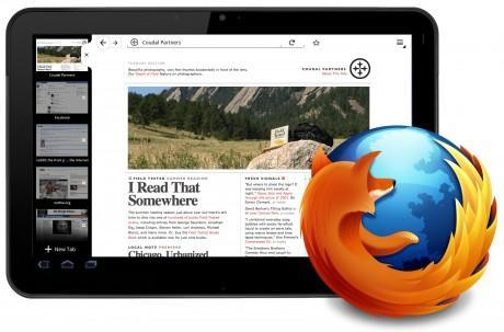 Firefox for Honeycomb UI shown off, inching closer to a tablet near you