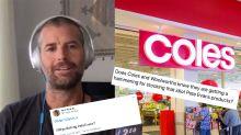 Coles called to drop Pete Evans over 'bullsh*t virus' comment