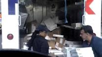 Guard in viral FedEx package-tossing video speaks out