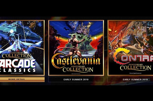 Konami is bringing 'Castlevania' and 'Contra' to modern consoles
