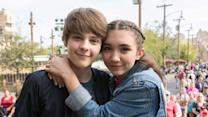 Besties - Rowan Blanchard and Her BFF Corey Play Best Friend Tag