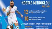 OM-Salzbourg - Sans être un grand attaquant, Mitroglou peut faire un grand OM