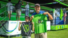 Unifi Championed Recycling at the Wyndham Championship
