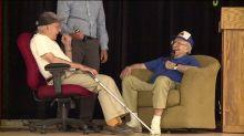 Veteran surprises man who saved his life in World War II at book signing