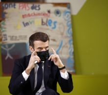 France's Macron tells isolated students to look out for one another