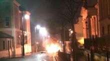 Suspected car bomb explodes in N. Ireland